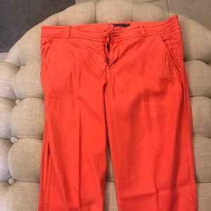 Coral Pants from Anthropologie